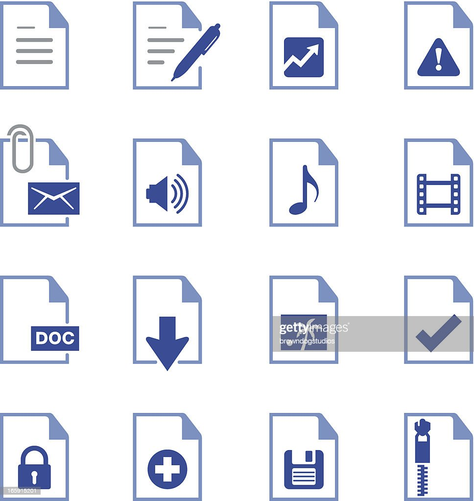 Documents Icons - Pro Series