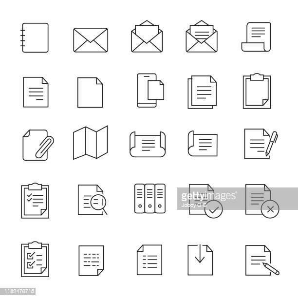 ドキュメント アイコンセット - コピーする点のイラスト素材/クリップアート素材/マンガ素材/アイコン素材