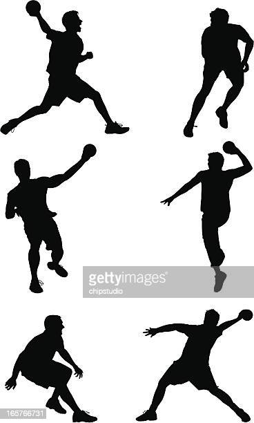 Dodgeball Silhouettes