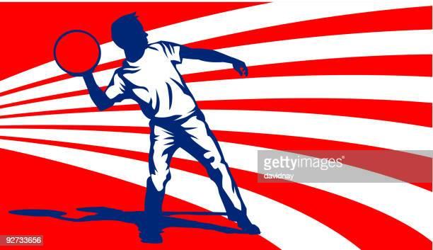 ilustraciones, imágenes clip art, dibujos animados e iconos de stock de dodgeball - educacion fisica