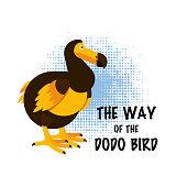 Dodo bird vector