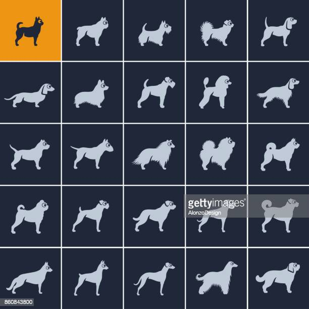 Dog Breed Icons