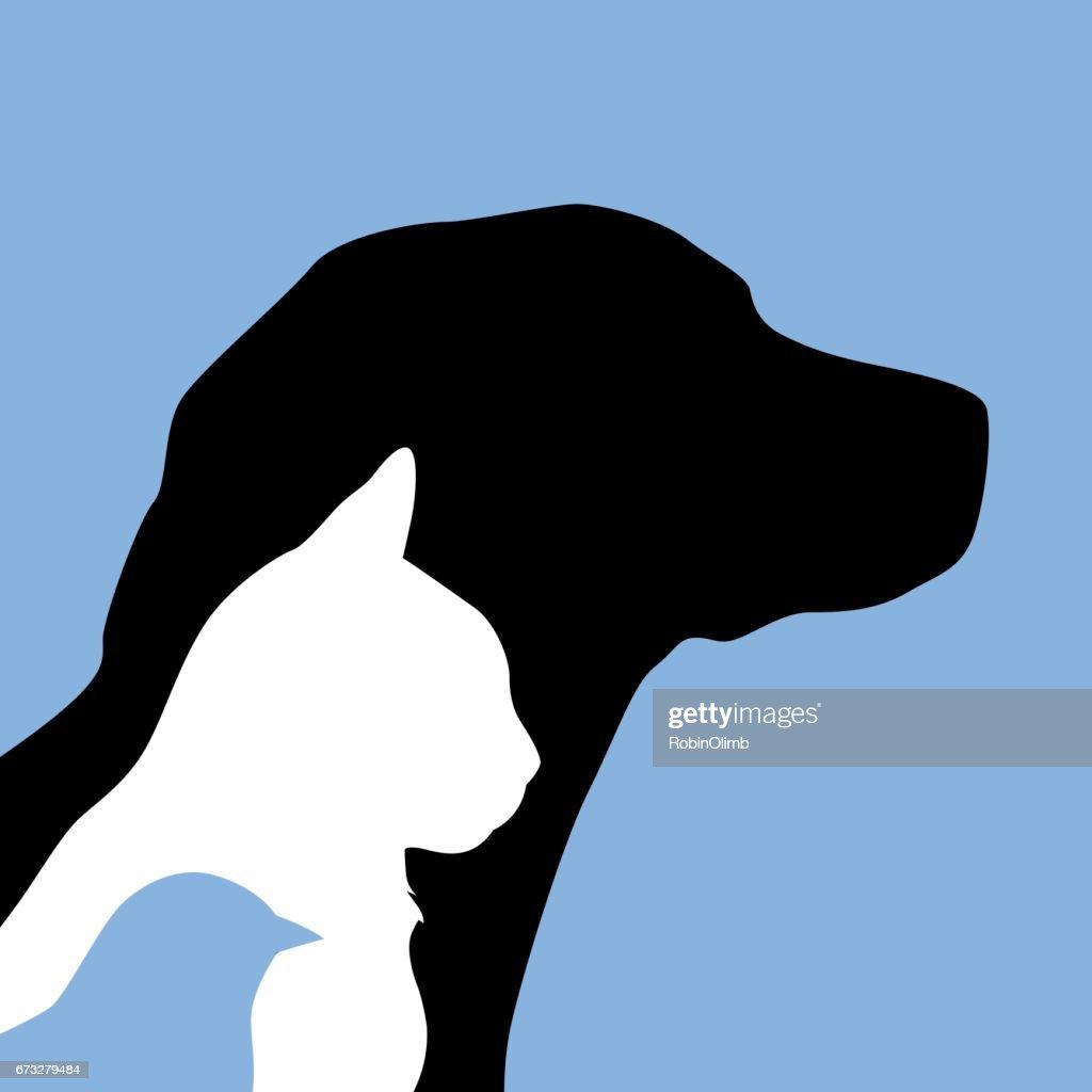 Dog Cat Bird Icon