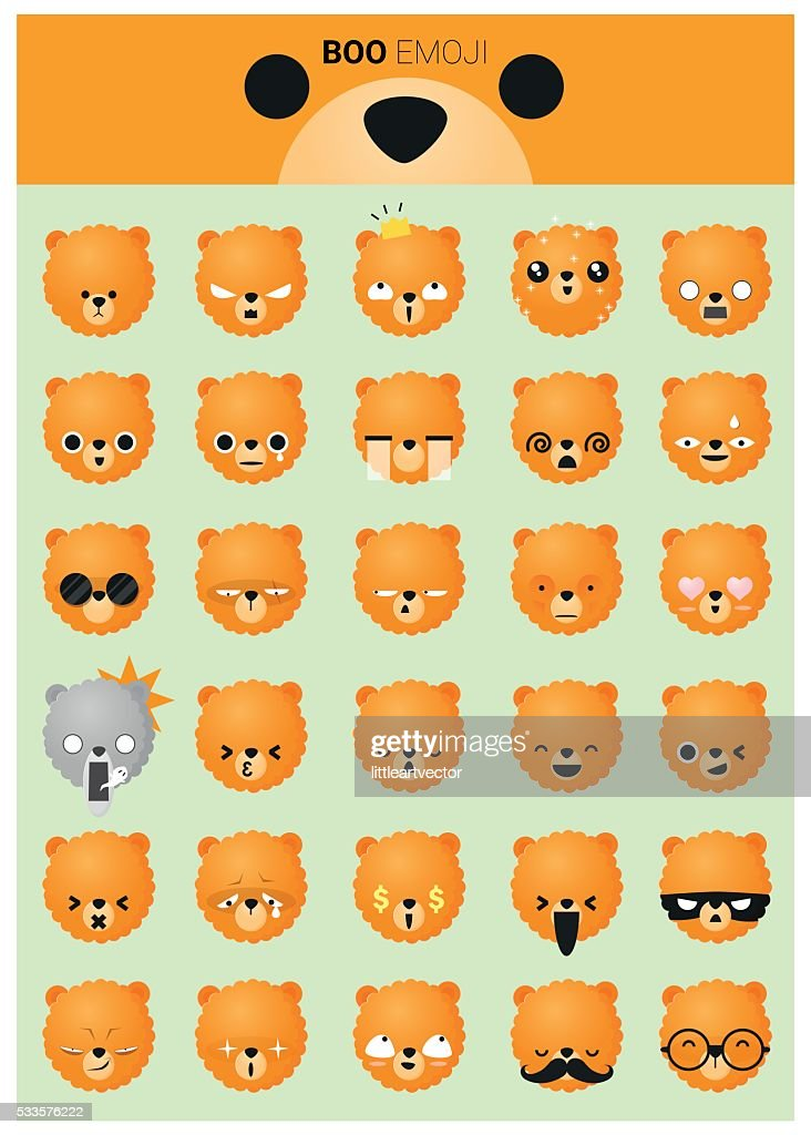Dog emoji icons