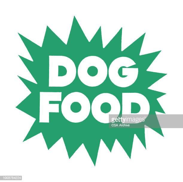 dog food - dog food stock illustrations, clip art, cartoons, & icons