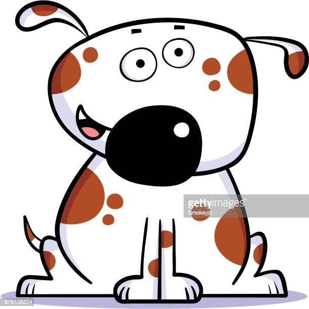 illustrations, cliparts, dessins animés et icônes de chien heureux - chien humour