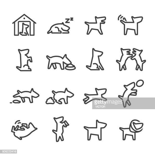 Dog Icons - Line Series