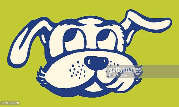 dog licking lips - tongue stock illustrations, clip art, cartoons, & icons