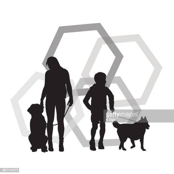Eigenaars van de hond
