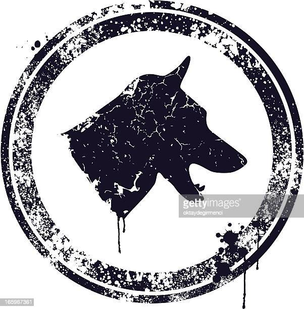 ilustraciones, imágenes clip art, dibujos animados e iconos de stock de perro - azul marino