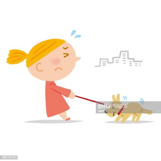 dog walking stop