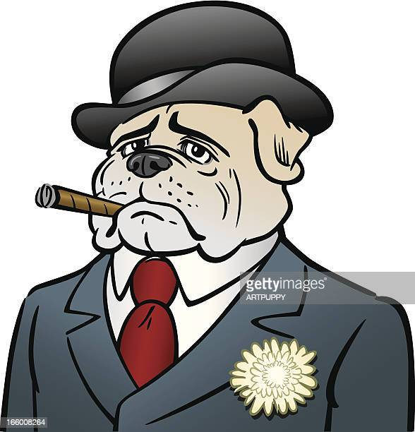 Dog With Cigar