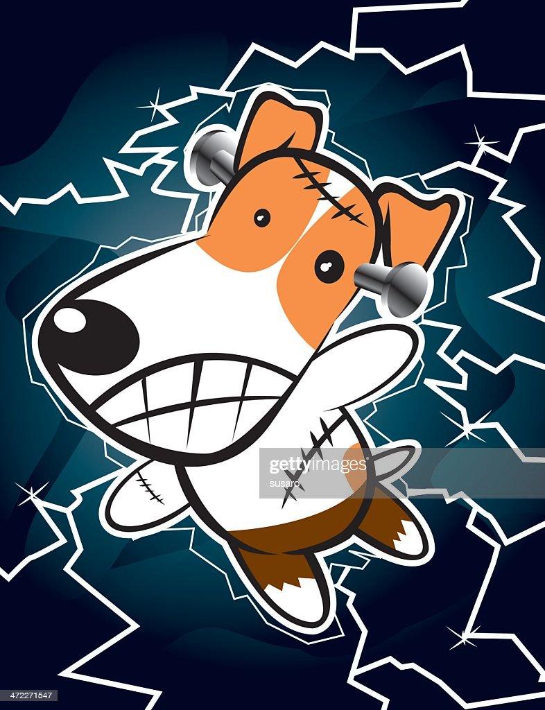 Dogkenstein : stock illustration