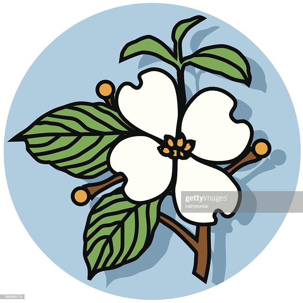 dogwood flower icon