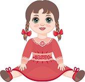 Doll. Children's toy.