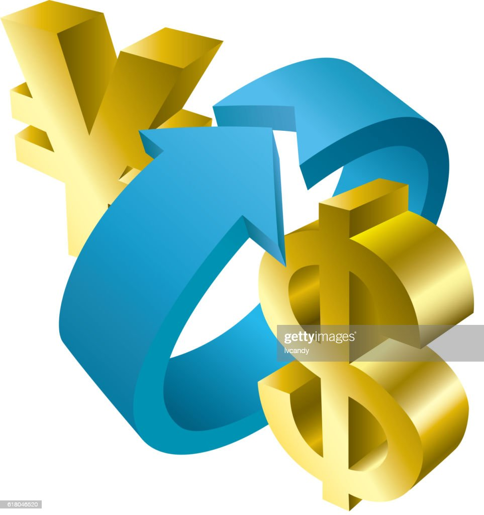 Dollar and rmb exchange vector art getty images dollar and rmb exchange vector art buycottarizona Gallery