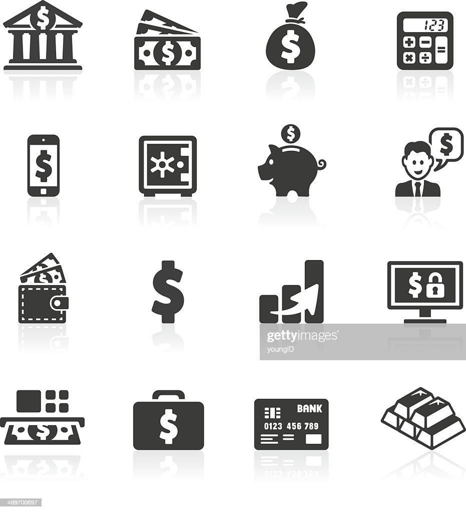 Dollar Banking Icons