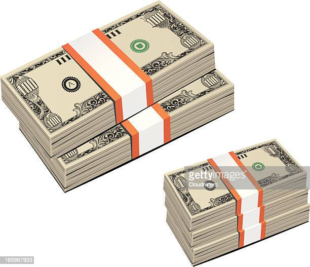 Dollar Bill Money Stack