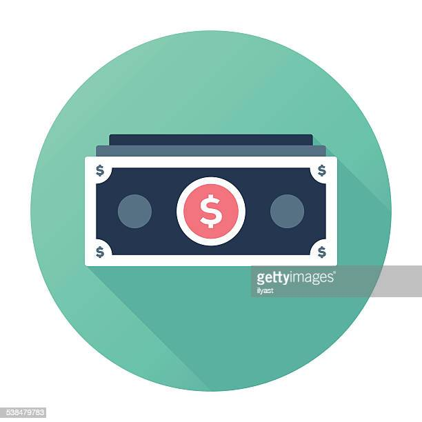 dollar stacks - dollar sign stock illustrations, clip art, cartoons, & icons