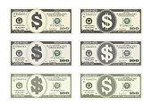 100 Dollars Banknote.