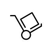 Dolly flat icon