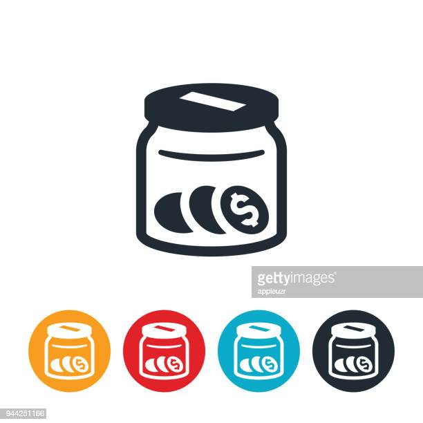 Donation Jar Icon