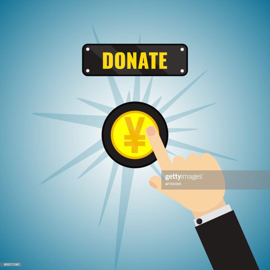 Donation Yen button