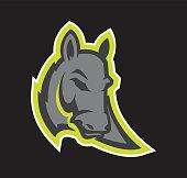 Donkey Mascot