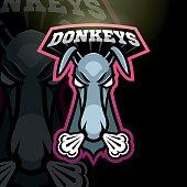 Donkey sport sign