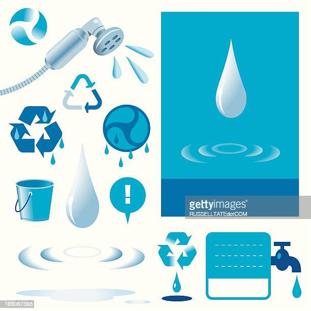 don't be a drip! - puddle stock illustrations, clip art, cartoons, & icons