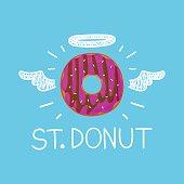 "Donut concept ""St. Donut"""