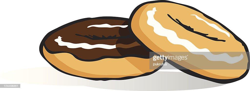 Donut visual : Ilustração