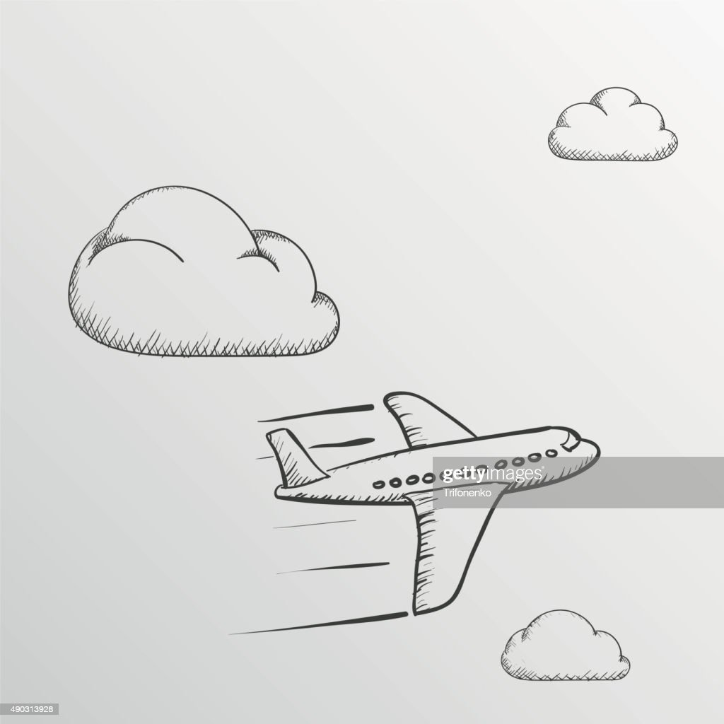 Doodle Airplane