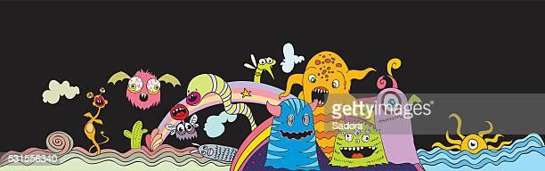 doodle créatures