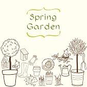 Doodle garden set