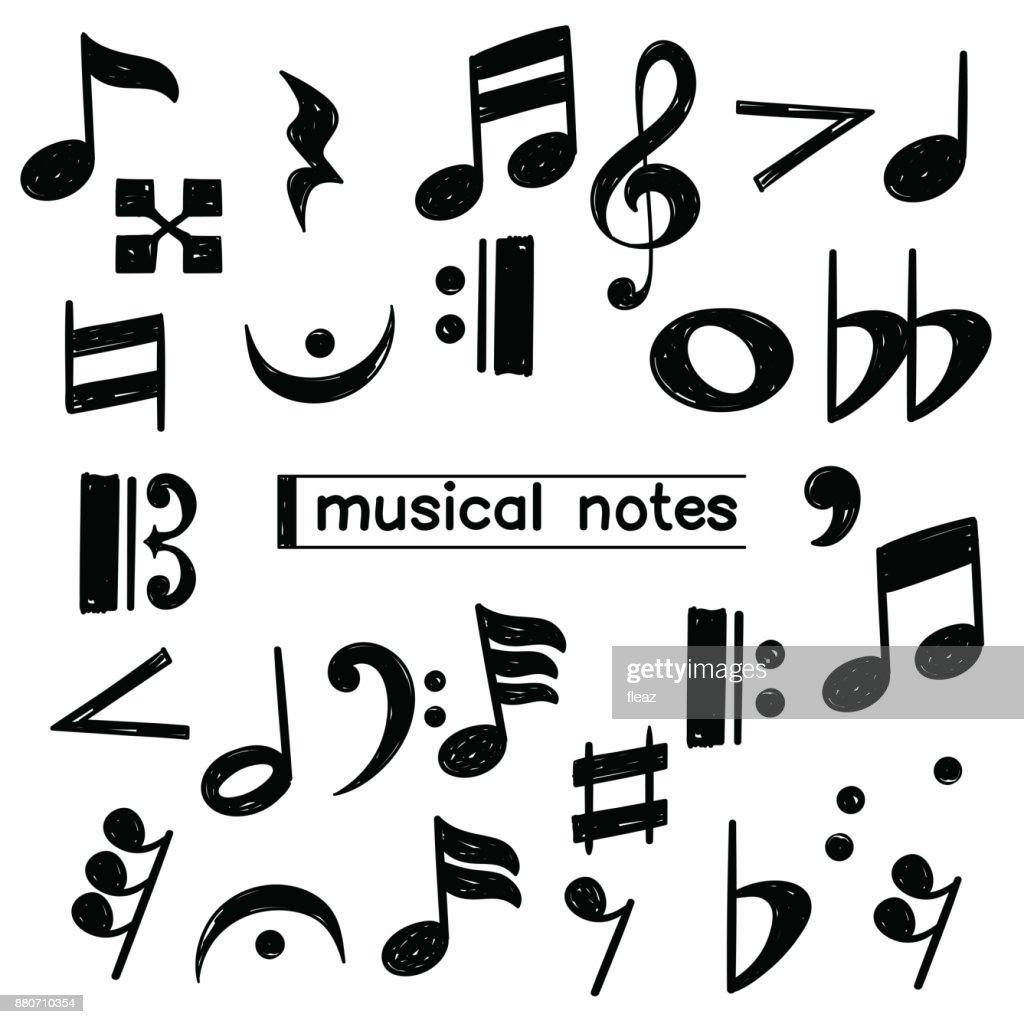 Doodle musical note symbol sketch vector art getty images doodle musical note symbol sketch vector art buycottarizona