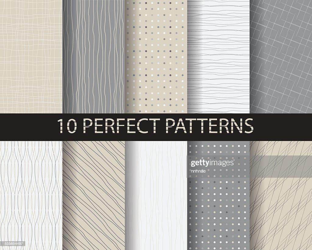 10 doodle patterns