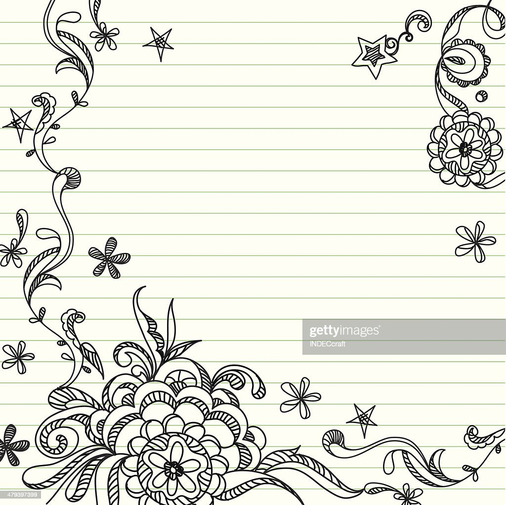 Doodle Template Vector Art | Getty Images