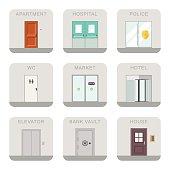 Doors icons.