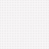 Dot pattern seamless vector black and white.
