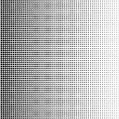 Dots Background. Vintage Modern Pattern. Grunge Abstract Backdrop. Pop-art Texture. Vector illustration