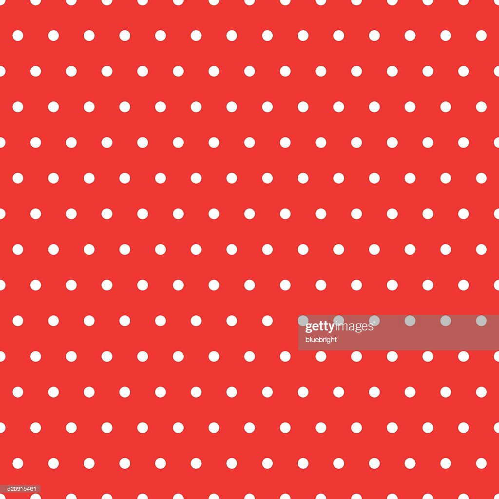 Dots Red Pattern