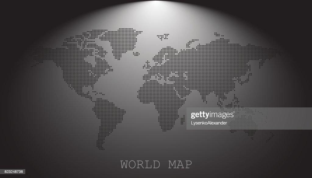 zwarte wereld