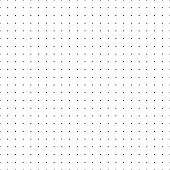 Dotted grid. Seamless pattern with dots. Simplified matrix vector refill
