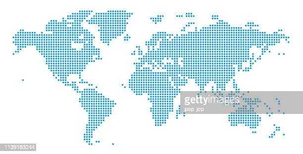 069 - dotted simple blue - spotted stock illustrations