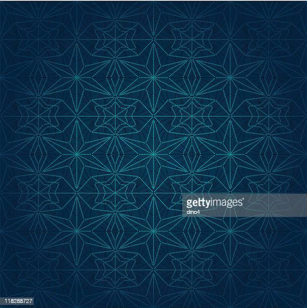 Dotted Stars Pattern (Seamless)