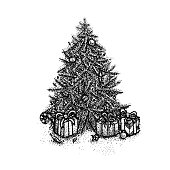 Dotwork Christmas Tree