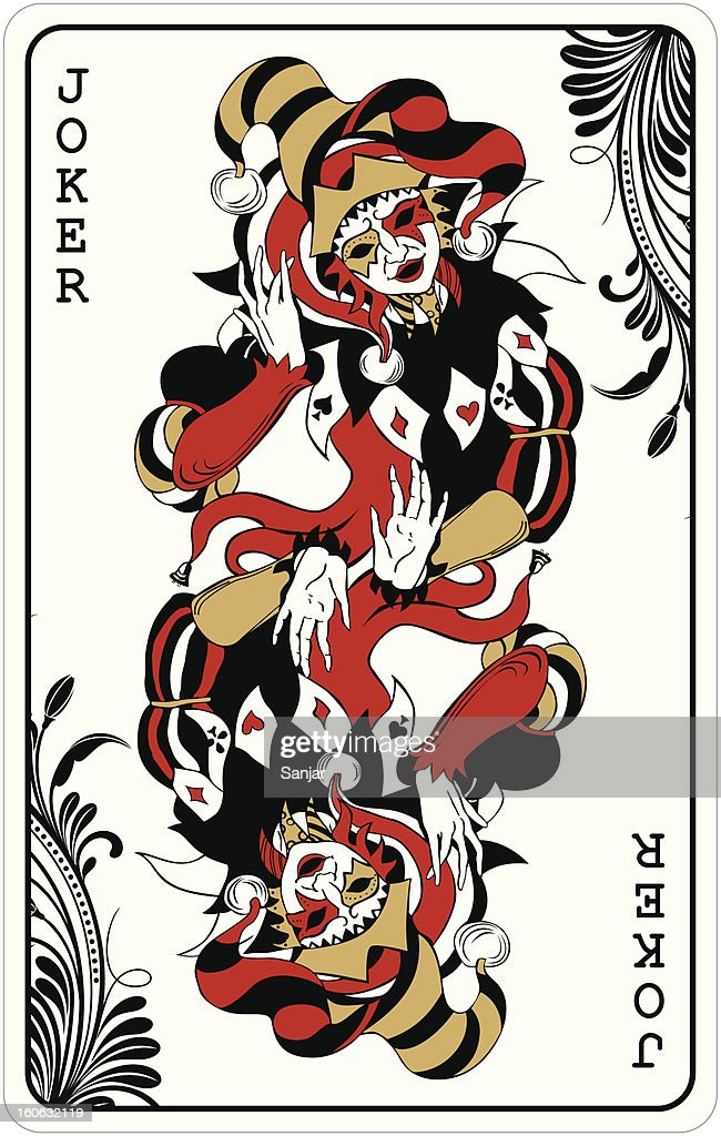 Double joker - playing card