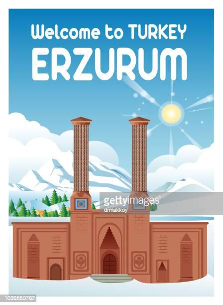 illustrations, cliparts, dessins animés et icônes de double minaret madrasa - événement sportif d'hiver