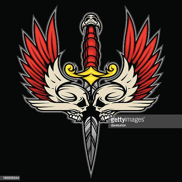 Double Skull Wing Blade